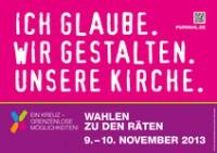 Wahlen zum GdG -und Pfarreirat am 09. und 10. November 2013