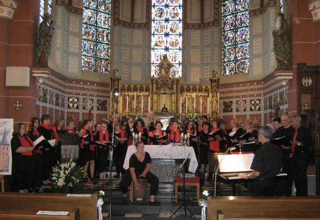 """Wunderbares Festkonzert von """"More than Gospel"""" zum 850-jährigen Kirchenjubiläum"""