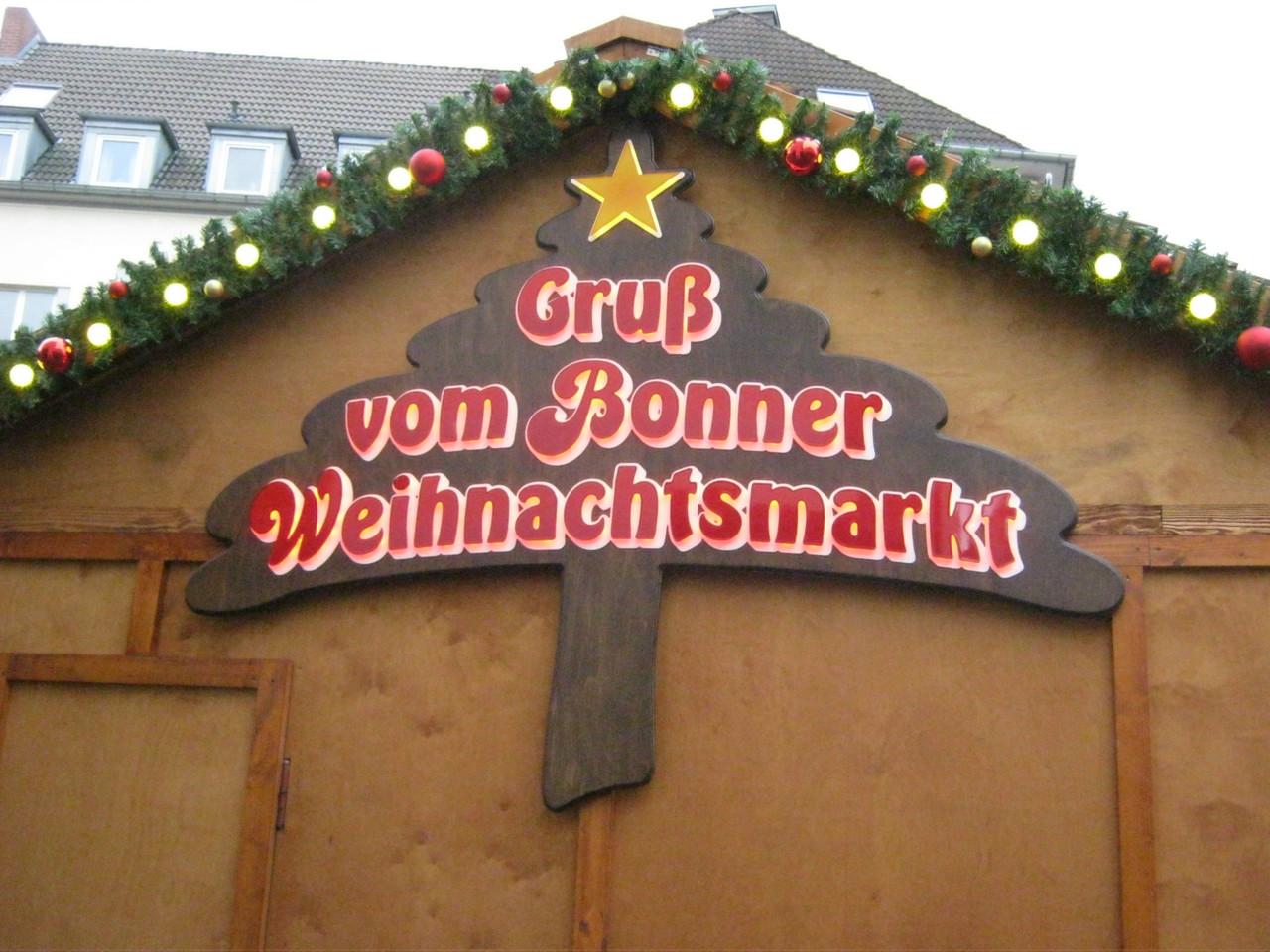 St. Matthias Bruderschaft Nz/Oz besuchte den Bonner Weihnachtsmarkt